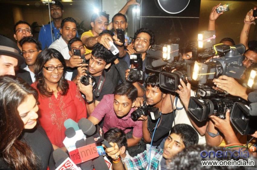 Sunny Leone At Mumbai Airport