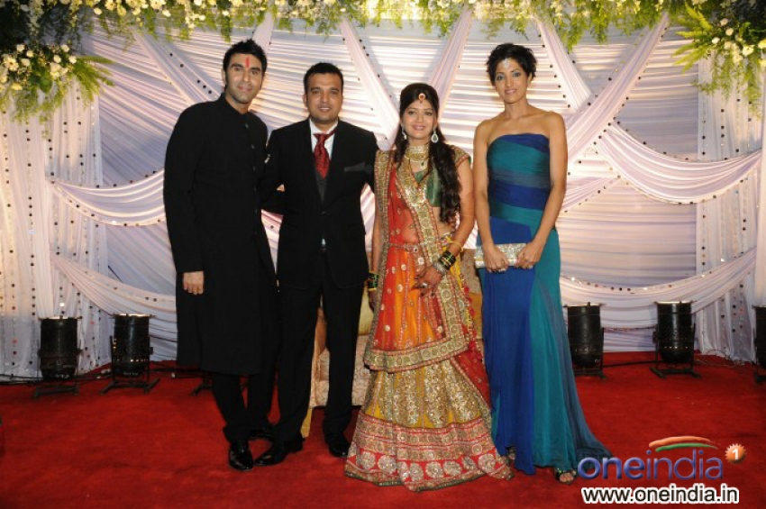 Suraj & Monali Godambe Wedding Reception