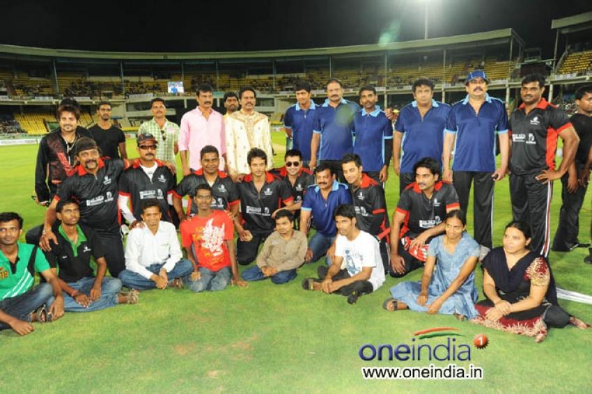 Tollywood Cricket League at Vizag
