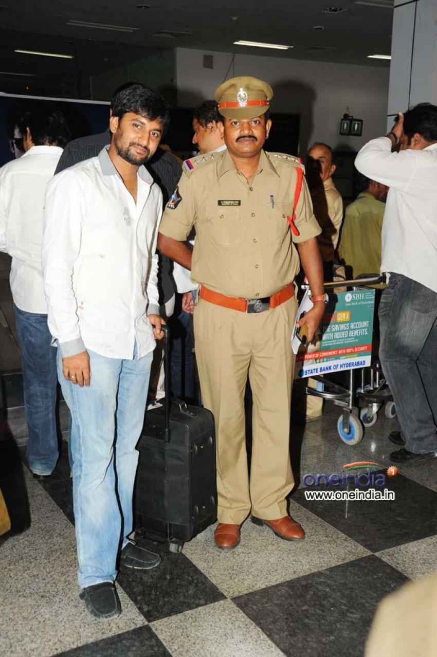 Tollywood Cricket Team in Vizag Airport
