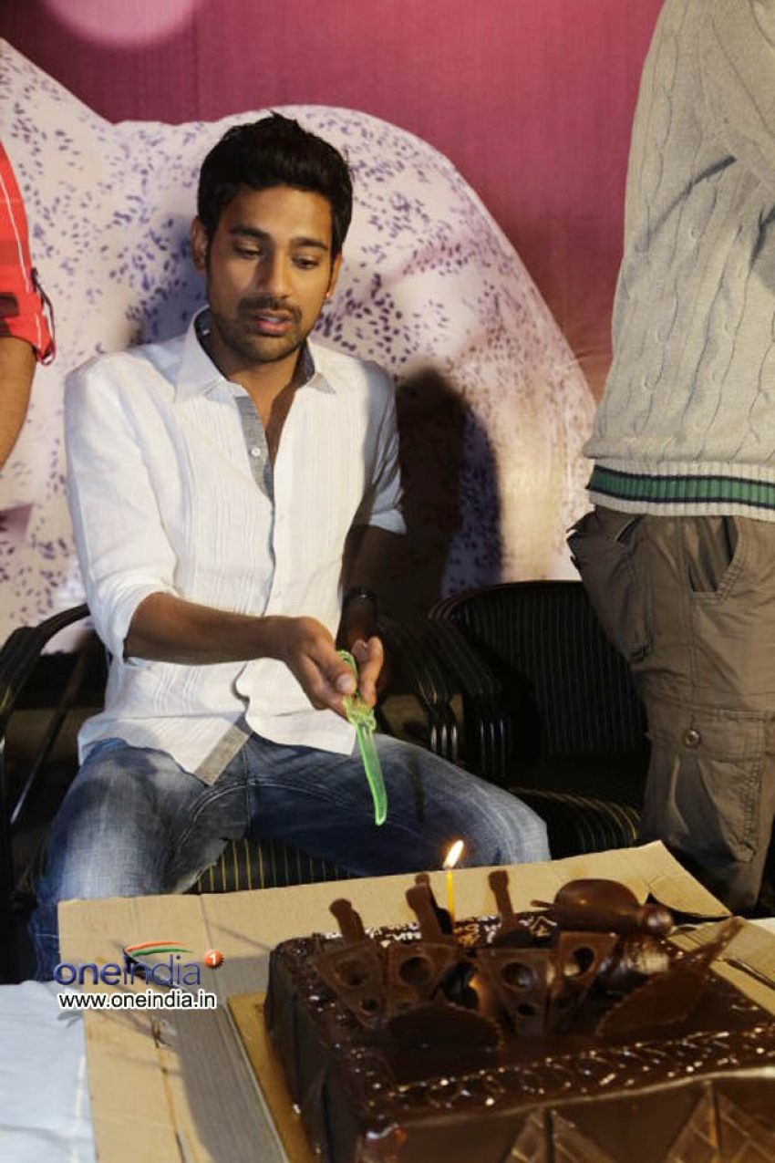 Varun Sandesh's Birthday Celebration