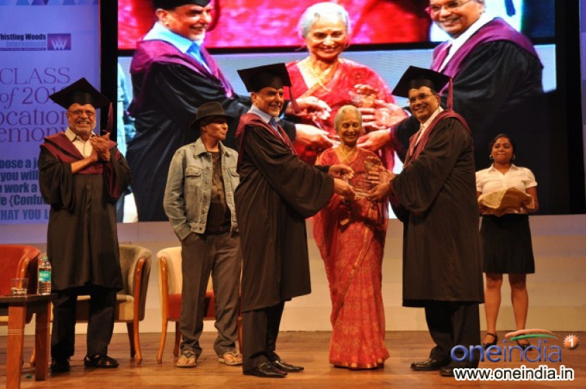 Whistling Woods International's 5th Annual Convocation Day