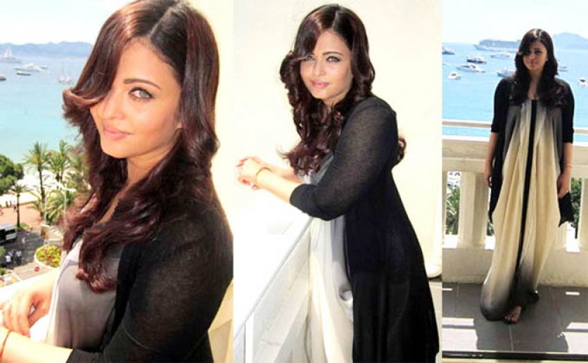 Aishwarya at Cannes starting from the year 2002