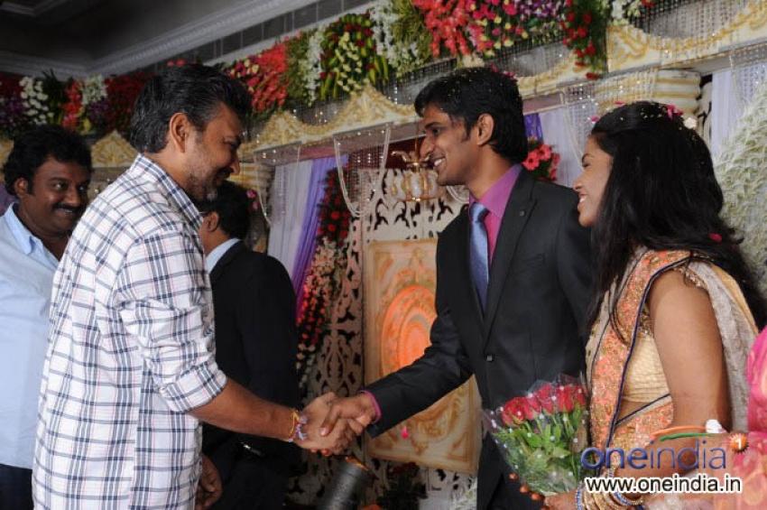 Producer Krishna Son Marriage Reception Photos