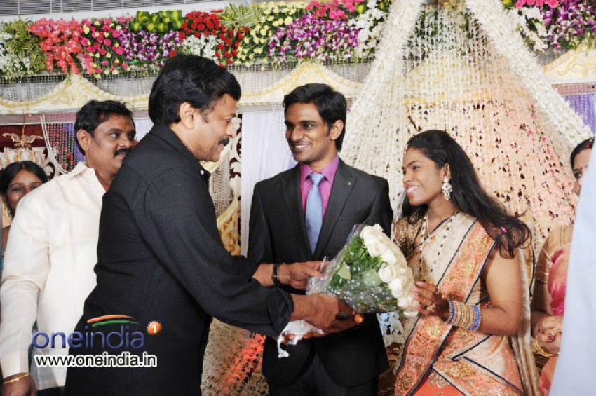 Producer Krishna Son Marriage Reception Photos