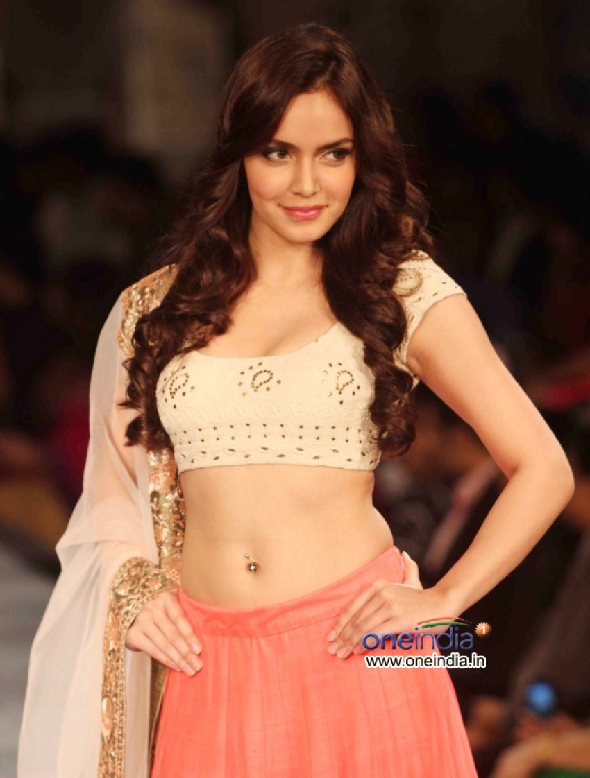 Celebrities Walk the Ramp on Fashion Shows Photos
