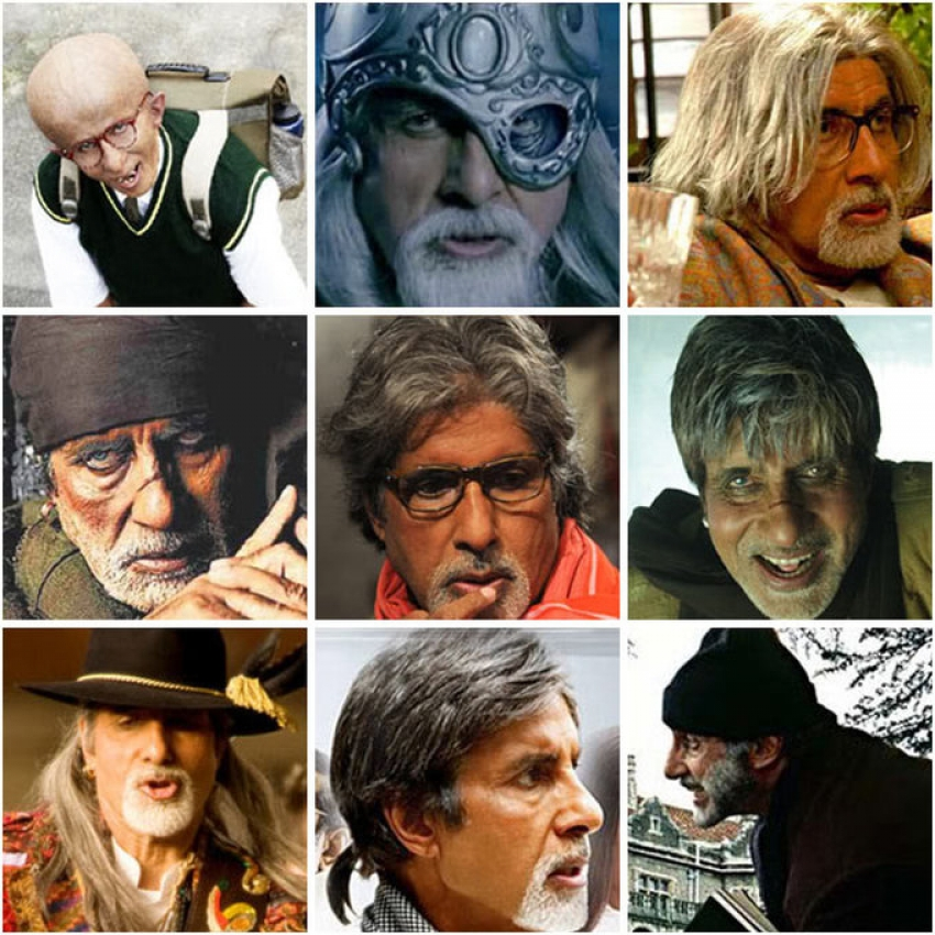 Bollywood Actor with different Hairstyle Photos