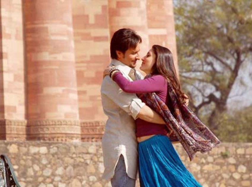 Saif - Kareena Love Story Photos