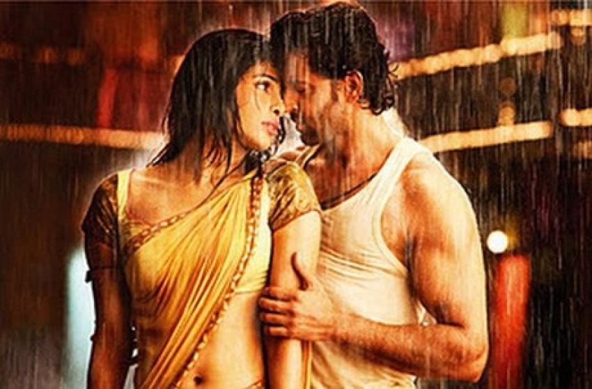 Romantic Moments in the Rain Photos