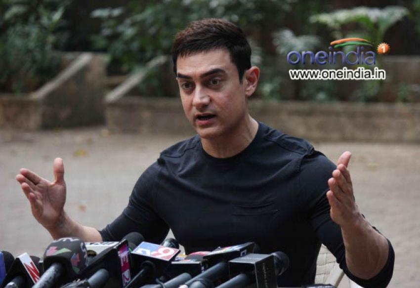 Aamir Khan Speaks on Success of Talaash Photos
