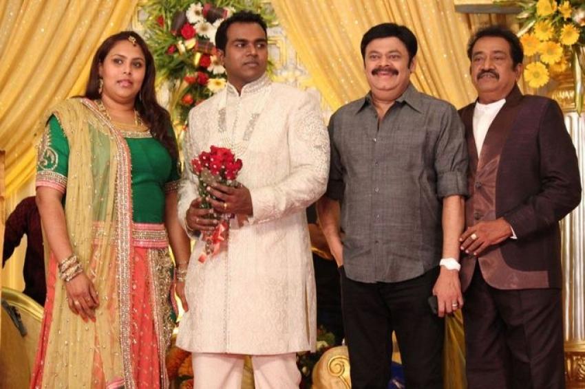Pandu Son Wedding Reception Photos - FilmiBeat