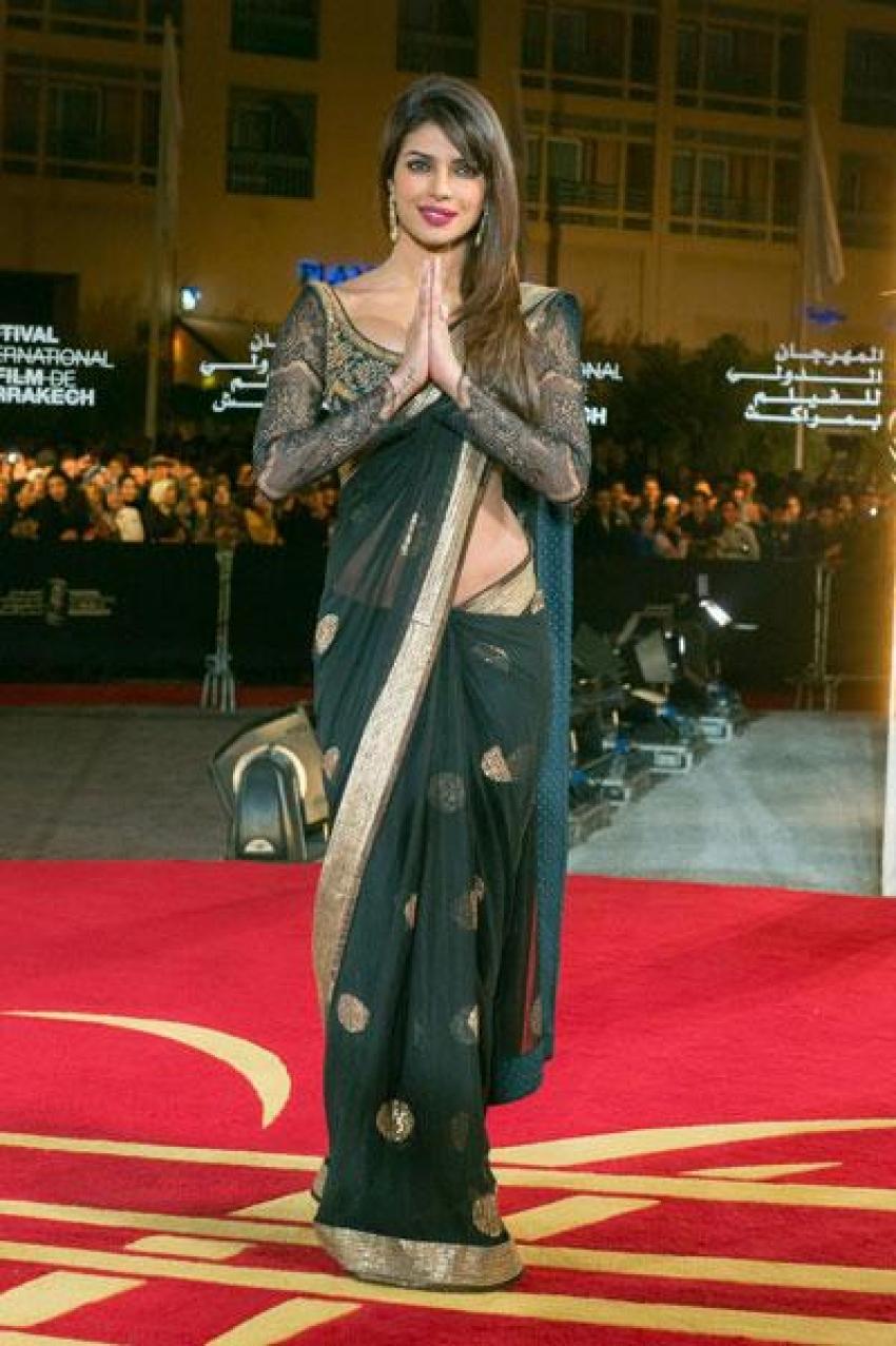 dress - Chopra priyanka in marrakech international film festival video