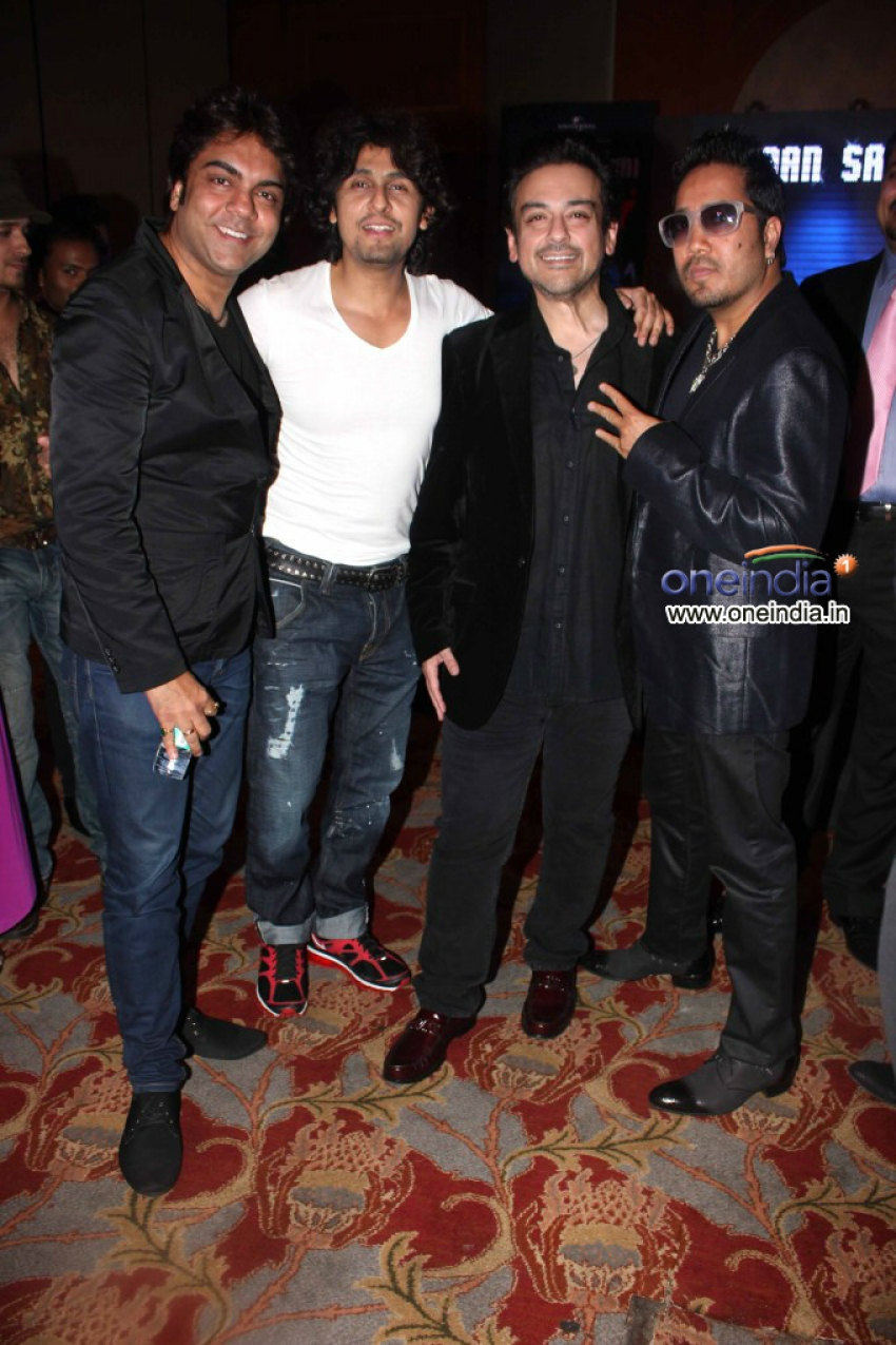 Adnan Sami's Press Play New Album Launch Photos