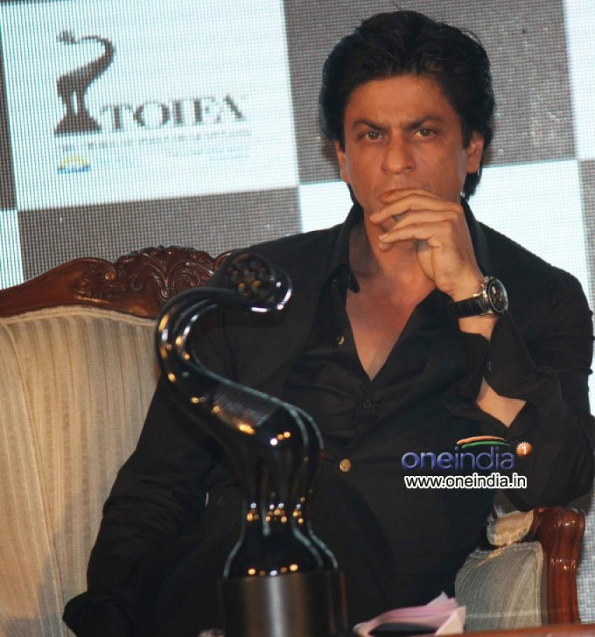 Shahrukh Khan Launches TOIFA Awards 2013 Photos