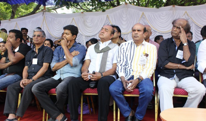 Tamil Film Industry Hunger Strike Against Service Tax Photos