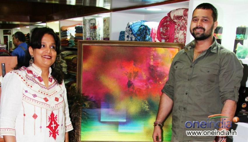 Amisha Mehta's Colour Dance Art Show Inauguration Photos