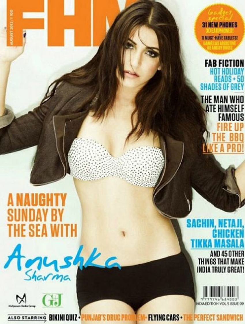 Anushka Sharma's Hottest Magazine Covers Photos