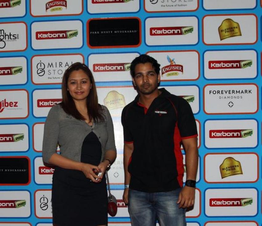 Celebrity Cricket League Season 3 Party at Hyatt Photos