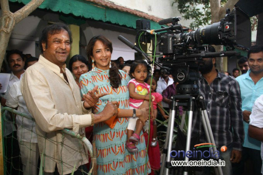Manchu Vishnu New Movie Launch Photos
