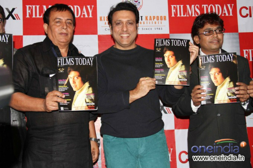 Govinda Launches Rajoo Kariya's Magazine Films Today Photos