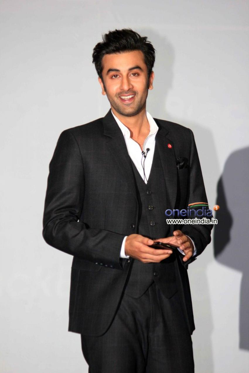 Ranbir Kapoor Unveils Blackberry Z10 Photos