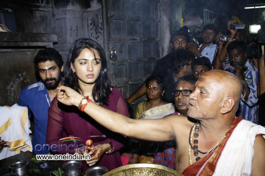 Rudrama Devi Movie Launch Photos