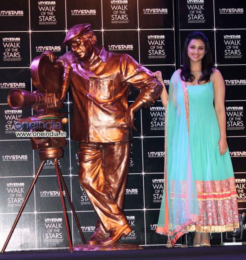 UTV Walk of Stars Unveiling of Yash Chopras Statue Photos