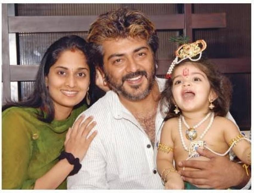 Ajith Daughter Anoushka's Rare Pics Photos