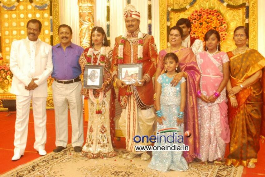 Art Director GK's Son Wedding Reception Photos