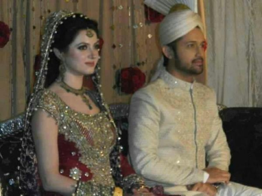 Atif Aslam & Sara Bharwana Wedding Photos