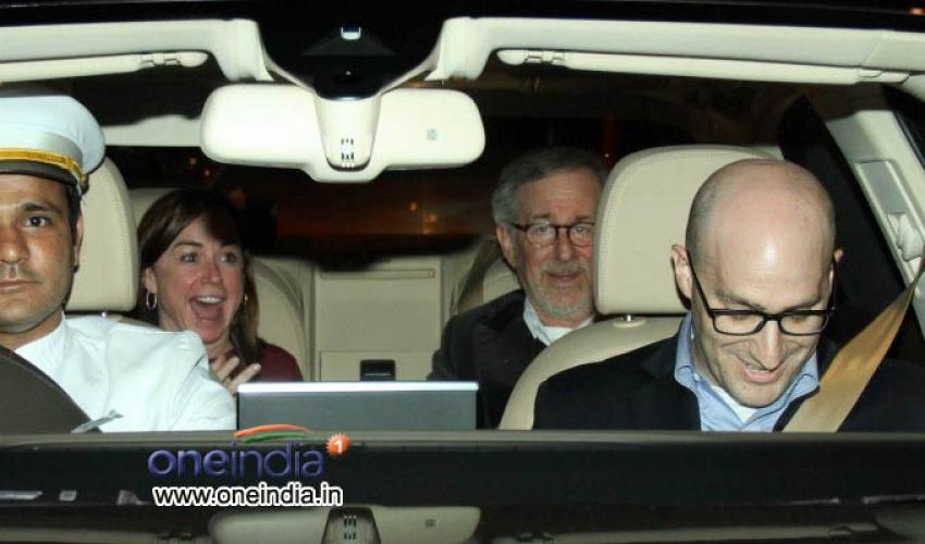 Bollywood Meet Hollywood Director Steven Spielberg Photos