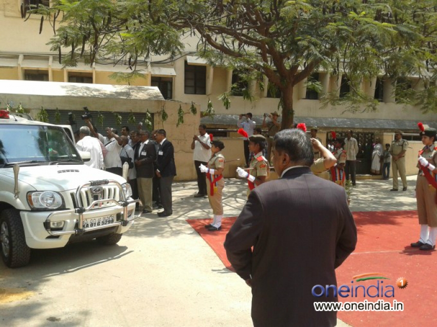 Dr.Abdul Kalam Visited Bangalore NMKRV College For Women Photos