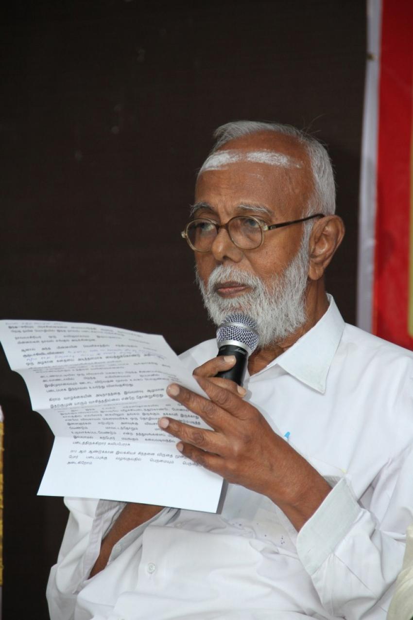 Kavignar Vairamuthu Press Meet Photos
