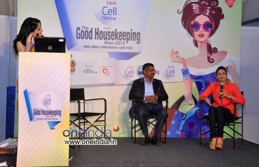 Maria Goretti Inaugurates The Good Housekeeping Show Photos