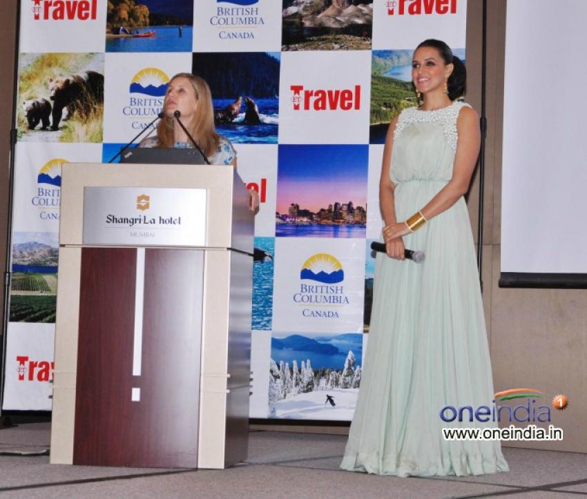 Neha Dhupia Promotes British Columbia Tourism Photos