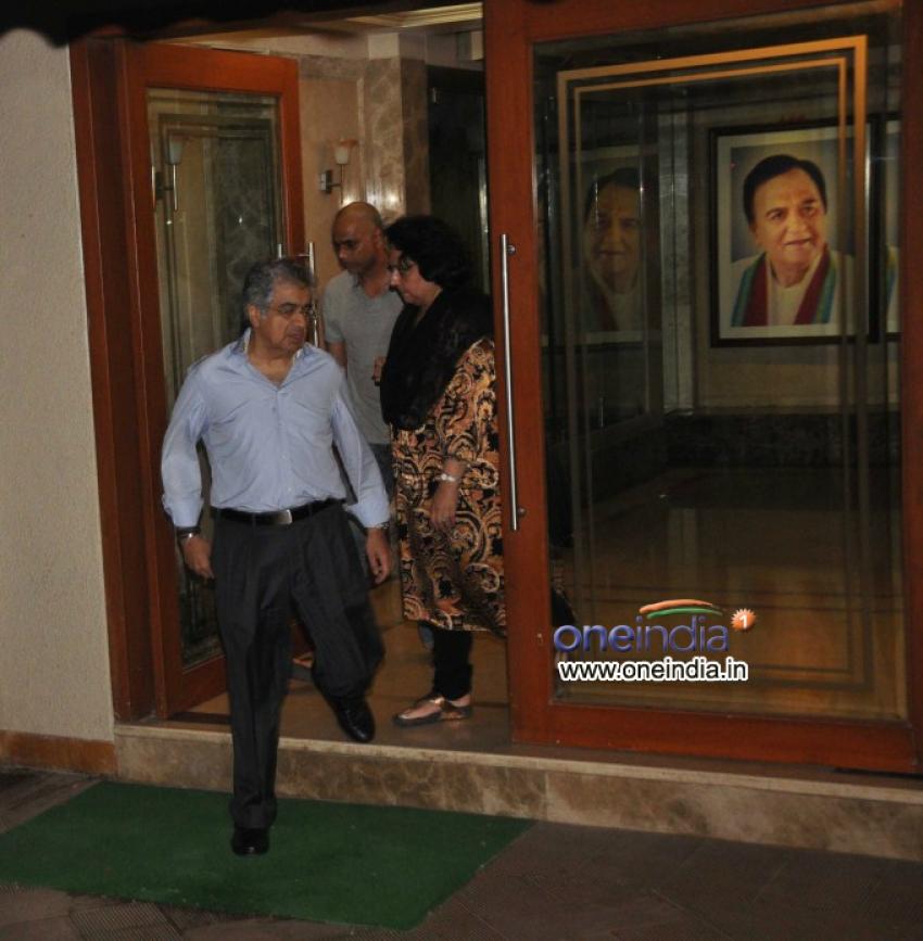Sanjay Dutt's Residence After Declaration of Punishment Photos