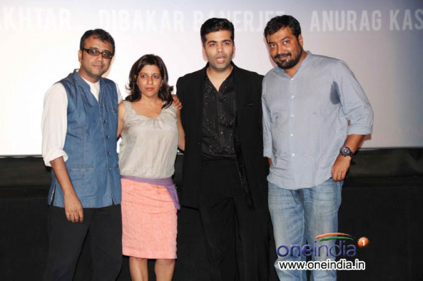 Unveiling of the trailer of Bombay Talkies Photos