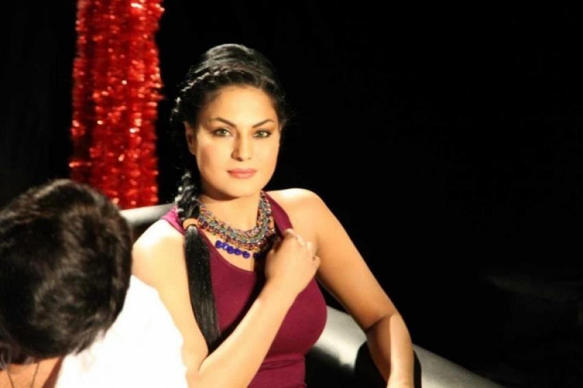 Veena Malik Media Inteaction at News24 Bangalore Photos