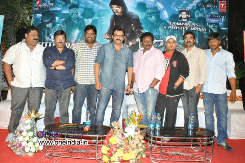 Venkatesh's Shadow Title Track Launch Photos