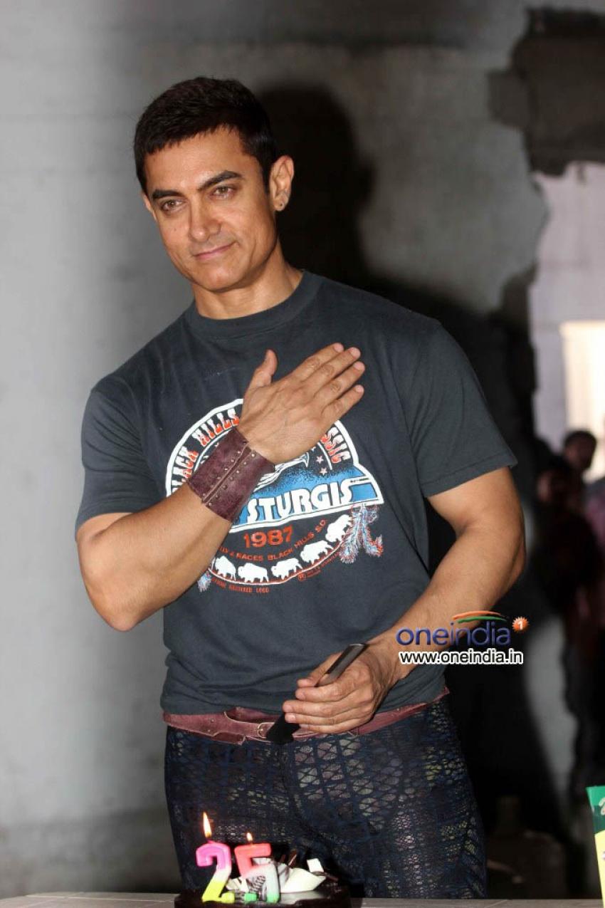Aamir khan 25 years in bollywood Press Meet Photos