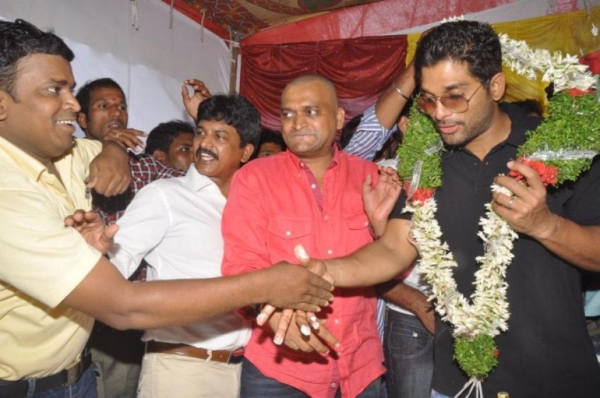 Allu Arjun Birthday 2013 Celebrations Photos