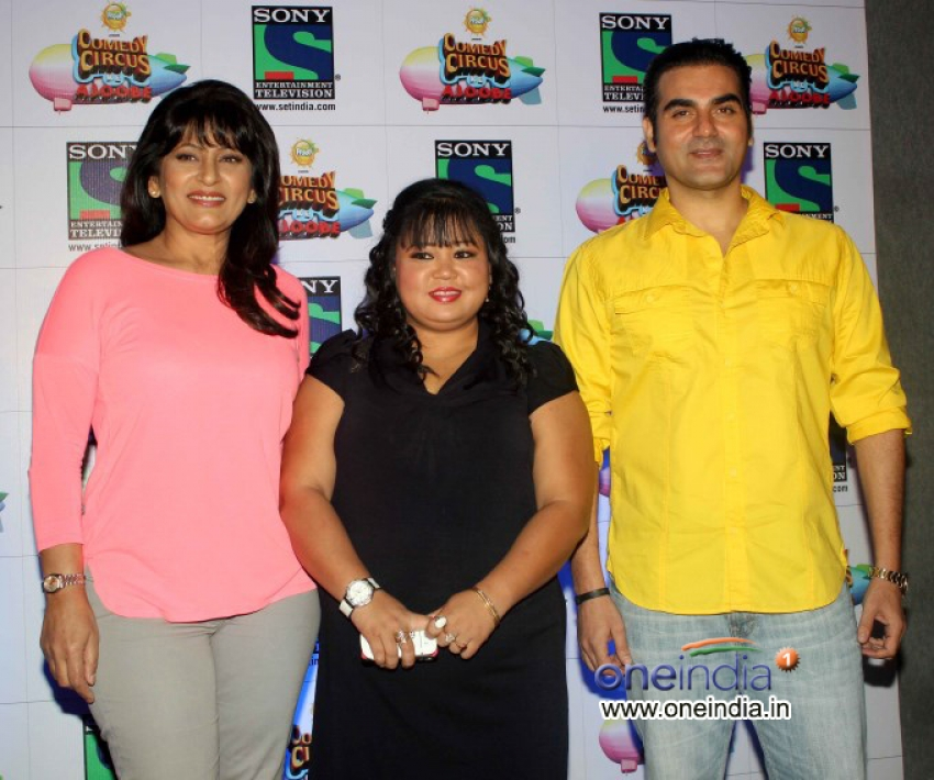 Arbaaz Khan at Press Conference of Comedy Circus Photos