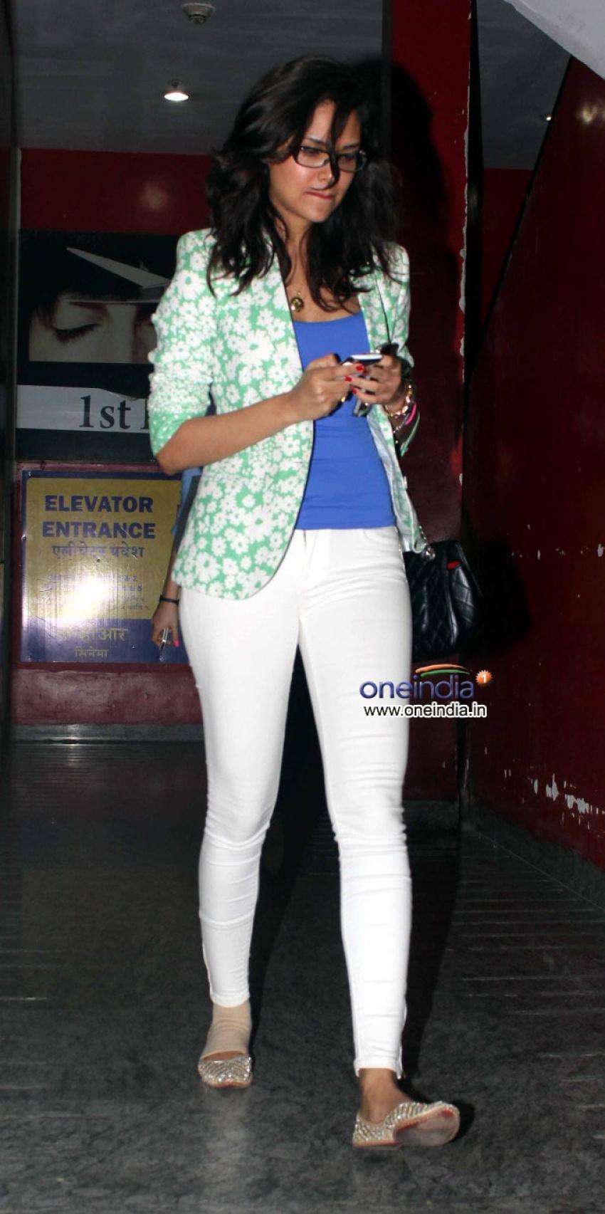 Esha Gupta Snapped at PVR Photos