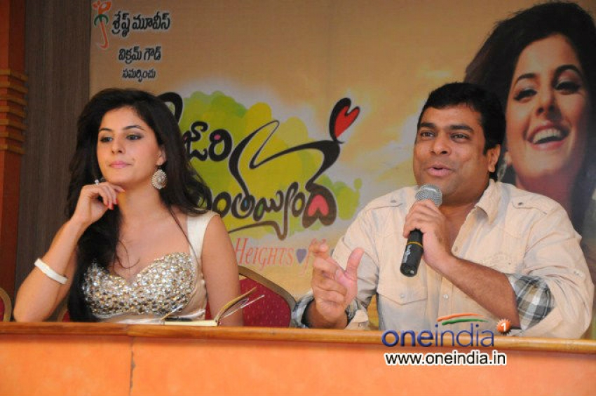 Gunde Jaari Gallanthayyindhe Press Meet Photos