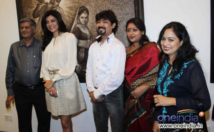 Inauguration of an Art Exhibition Women & We Men Photos