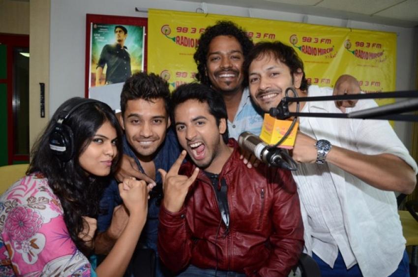 Intinta Annamayya team at Radio Mirchi Photos