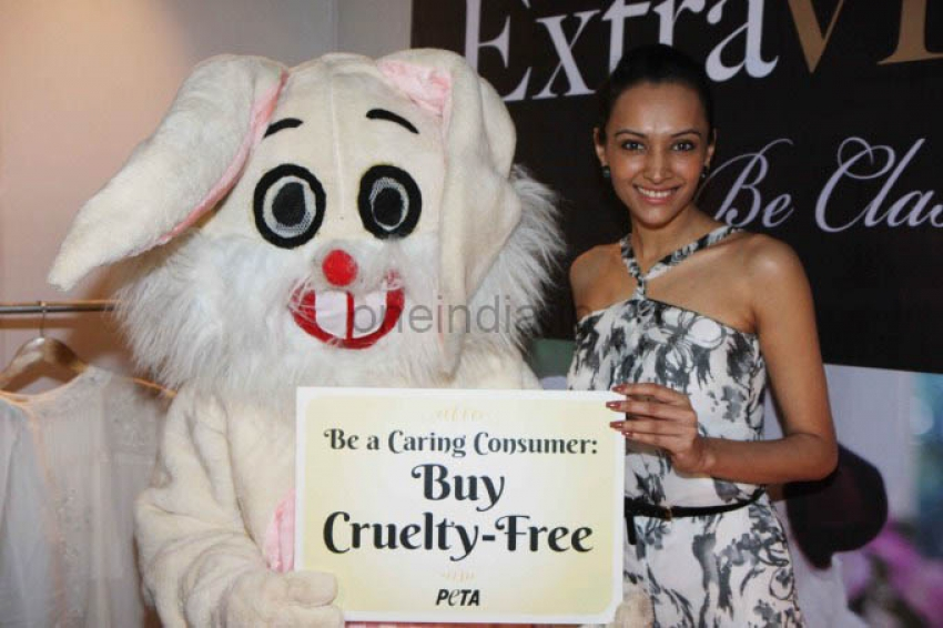PETA promotes Extra-Vegan-Za at Indian Luxury Expo Photos
