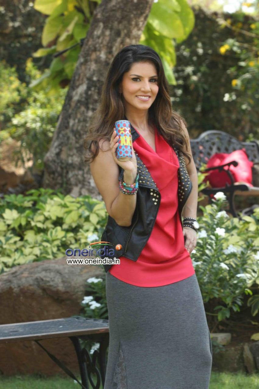 Sunny Leone Promotes Sachiin Joshi's Energy Drink Photos