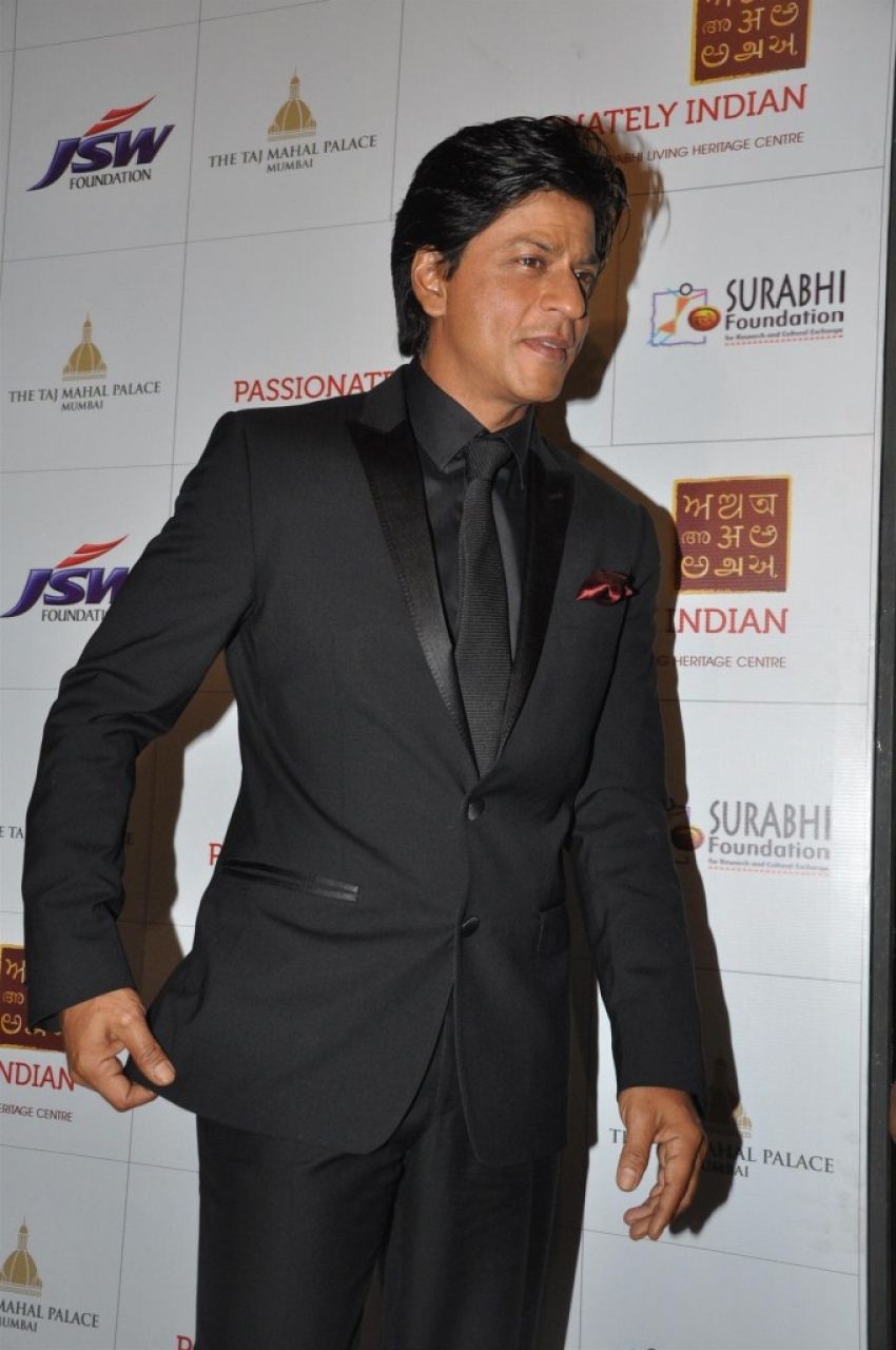 Shah Rukh Khan at the Passionately Indian Fund Raiser Photos