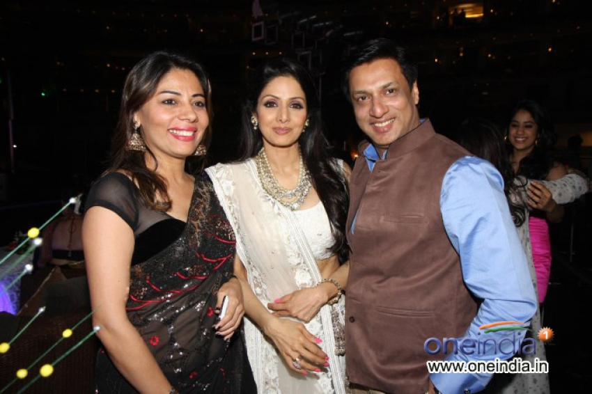 Subrata Roy party for Sridevi Photos